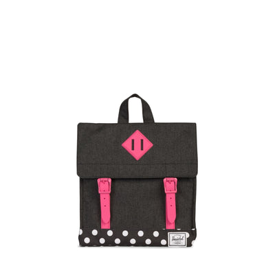 Herschel Çocuk Sırt Çantası Survey Kids Black Crosshatch