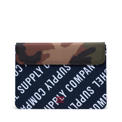 Herschel Spokane Sleeve for new 13 inch MacBook Roll Call Peacoat/Woodland Camo Laptop Kılıfı