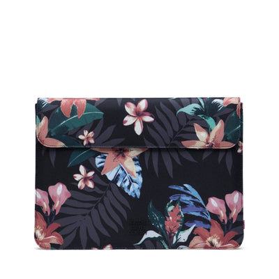 Spokane Sleeve for new 13 inch MacBook Summer Floral Black