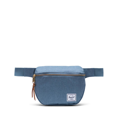 Herschel Bel Çantası Fifteen Blue Mirage Crosshatch