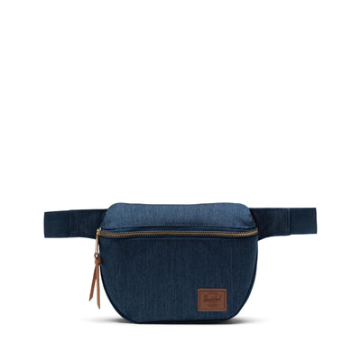 Herschel Bel Çantası Fifteen Indigo Denim Crosshatch