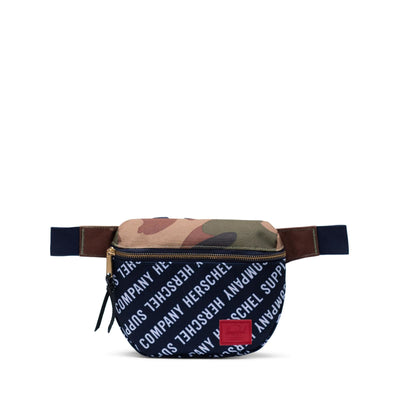 Herschel Bel Çantası Fifteen Roll Call Peacoat/Woodland Camo