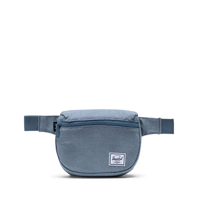 Herschel Bel Çantası Fifteen Cotton Canvas Blue Mirage