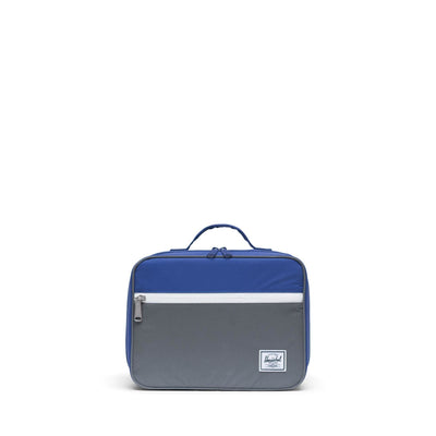 Pop Quiz Lunch Box Blue/Silver Reflective