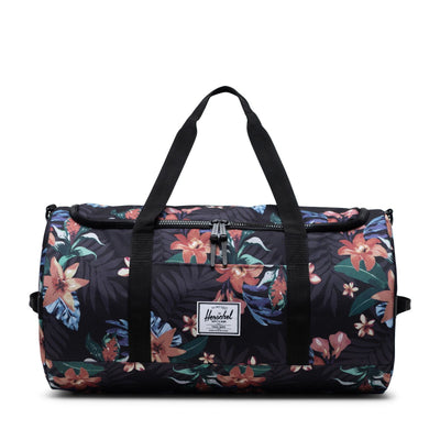 Sutton Summer Floral Black