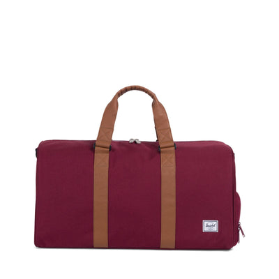 Novel Mid-Volume Windsor Wine/Tan Synthetic Leather