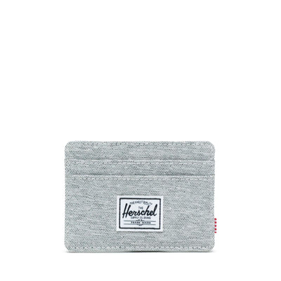 Herschel Kartlık Charlie RFID Light Grey Crosshatch