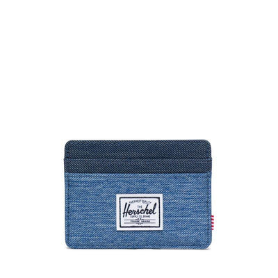 Herschel Kartlık Charlie RFID Faded Denim