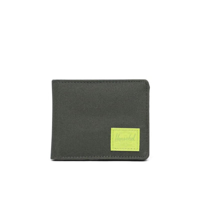 Roy RFID Dark Olive/Lime Green