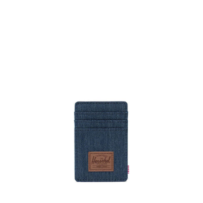 Herschel Cüzdan Raven RFID Indigo Denim Crosshatch/Saddle Brown