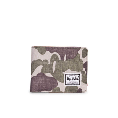 Herschel Cüzdan Hank RFID Frog Camo/Tan Synthetic Leather