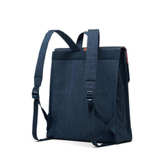 Herschel Sırt Çantası City Mid-Volume Indigo Denim Crosshatch