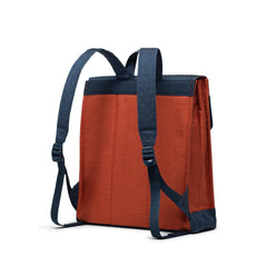Herschel Sırt Çantası City Mid-Volume Indigo Denim/Picante Crosshatch/Tan
