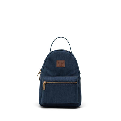 Herschel Sırt Çantası Nova Mini Indigo Denim Crosshatch