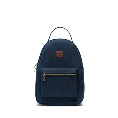 Herschel Sırt Çantası Nova Small Indigo Denim Crosshatch