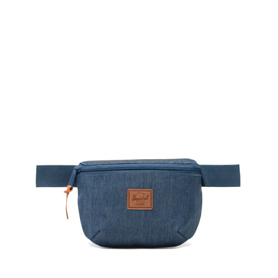 Herschel Bel Çantası Fourteen Indigo Denim Crosshatch