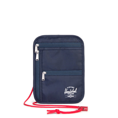 Money Pouch Navy/Red