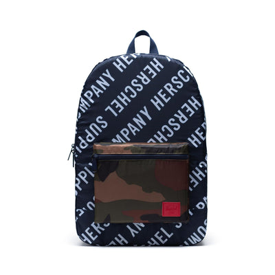 Herschel Sırt Çantası Packable Daypack Roll Call Peacoat/Woodland Camo