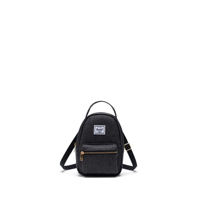 Herschel Bel Çantası Nova Crossbody Black Crosshatch