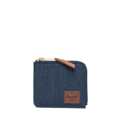Herschel Cüzdan Jack RFID Indigo Denim Crosshatch/Saddle Brown