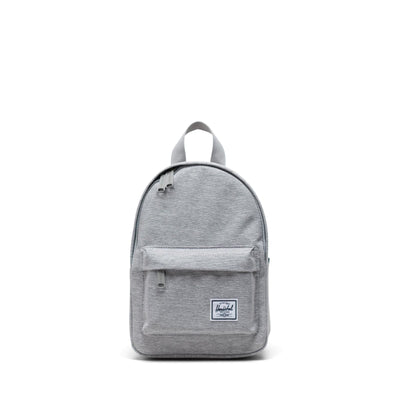 Herschel Sırt Çantası Classic Mini Light Grey Crosshatch