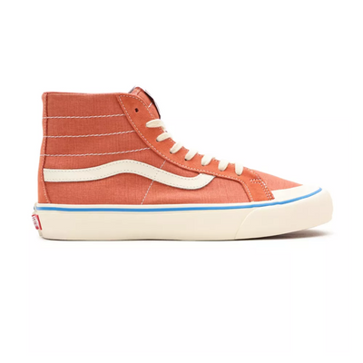 UA SK8-Hi 138 Decon SF (Salt Wash) Langoustino/Antique White Erkek Spor Ayakkabısı