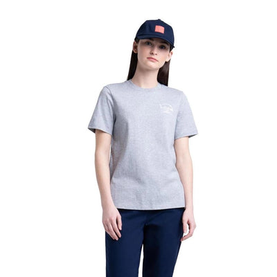 T-Shirt Women's Tee Arabic Classic Logo Heather Grey