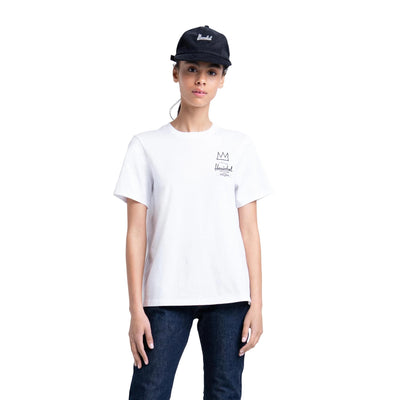 T-Shirt Women's Tee Basquiat Bright White