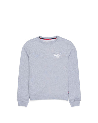 Crewneck Classic Logo Heather Grey/White Kadın Sweatshirt