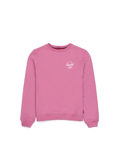 Crewneck Classic Logo Heather Rose/White Kadın Sweatshirt