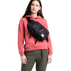 Herschel Bel Çantası Eighteen Raven Crosshatch