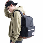Herschel Sırt Çantası Pop Quiz Grey/Tan Synthetic Leather