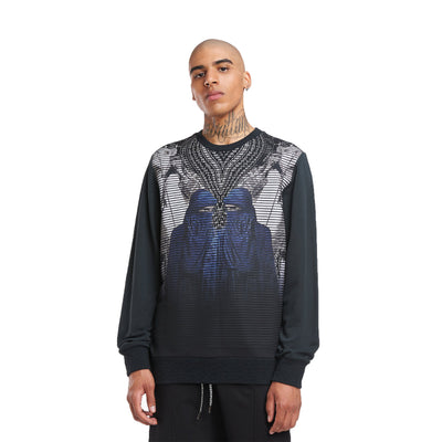 Les Benjamins Sweatshirt Mirroreg Men's Black