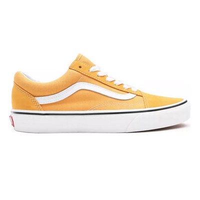 UA Old Skool Golden Nugget/True White Unisex Spor Ayakkabısı