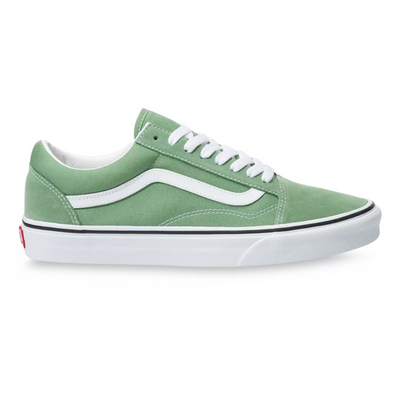 UA Old Skool Shale Green/True White Unisex Spor Ayakkabısı