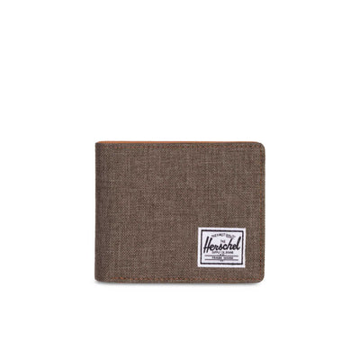 Herschel Cüzdan Hank RFID Canteen Crosshatch/Tan Syn Leather