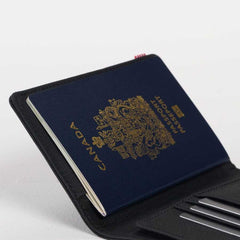 Herschel Raynor Passport Holder RFID Light Grey