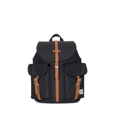 Herschel Dawson Small Black/Tan Synthetic Leather