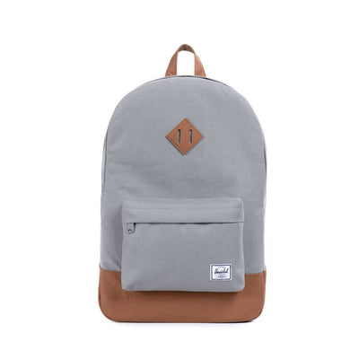 Herschel Sırt Çantası Heritage Grey/Tan Synthetic Leather
