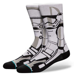 Stance Çorap Trooper White
