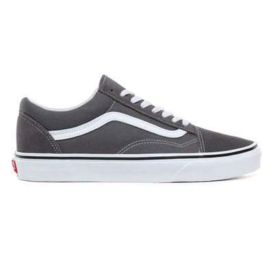 UA Old Skool Pewter/True White Unisex Spor Ayakkabısı