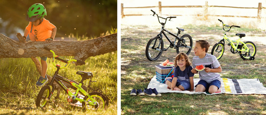 Power to the Boys | Featured the Kent Racer and two brothers having a picnic with bikes