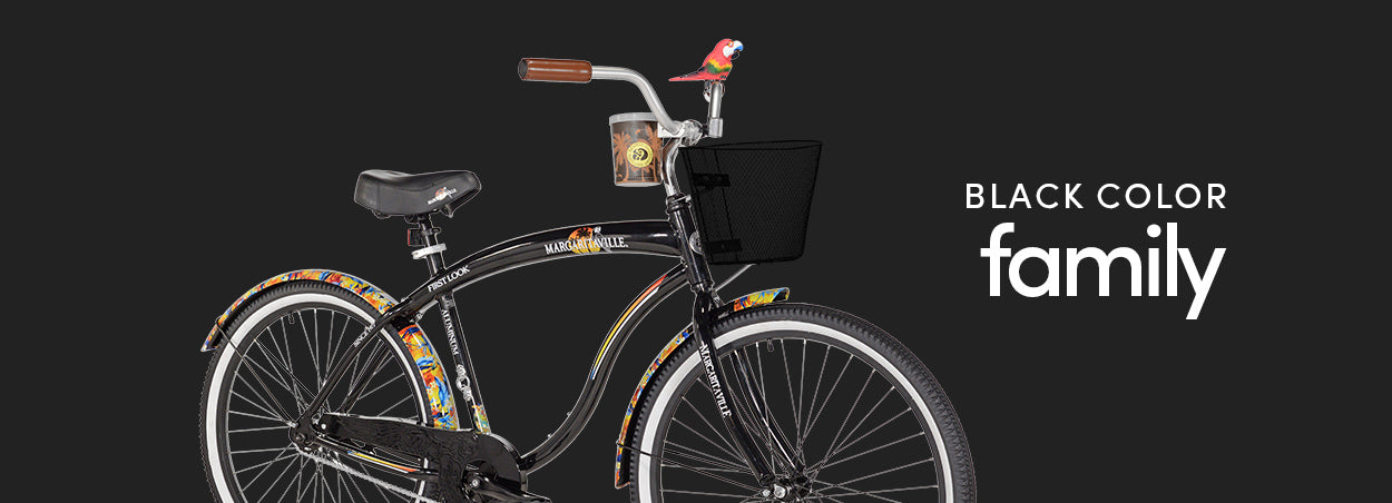 Black Color Family | Featured the Margaritaville First Look Cruiser