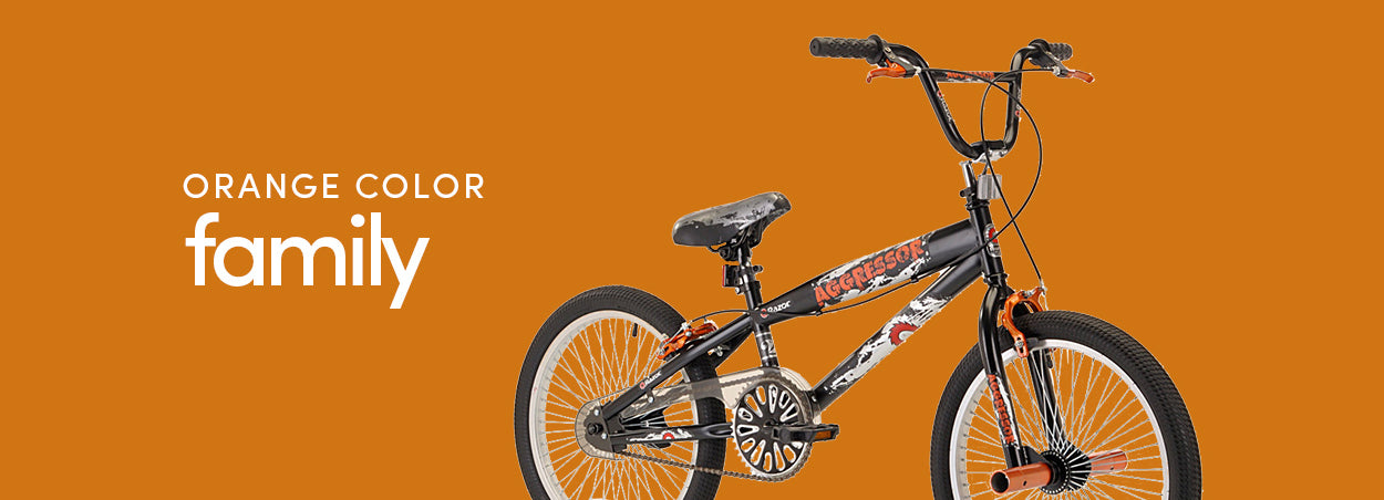 Orange Color Family Bikes | Featured the Razor Aggressor