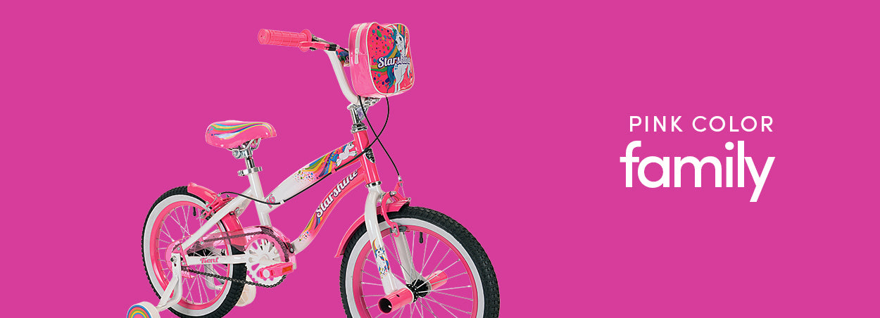 Pink Color Family Bikes | Featured the Kent Starshine