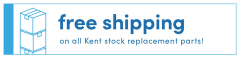 Free Shipping on All Kent stock replacement parts!