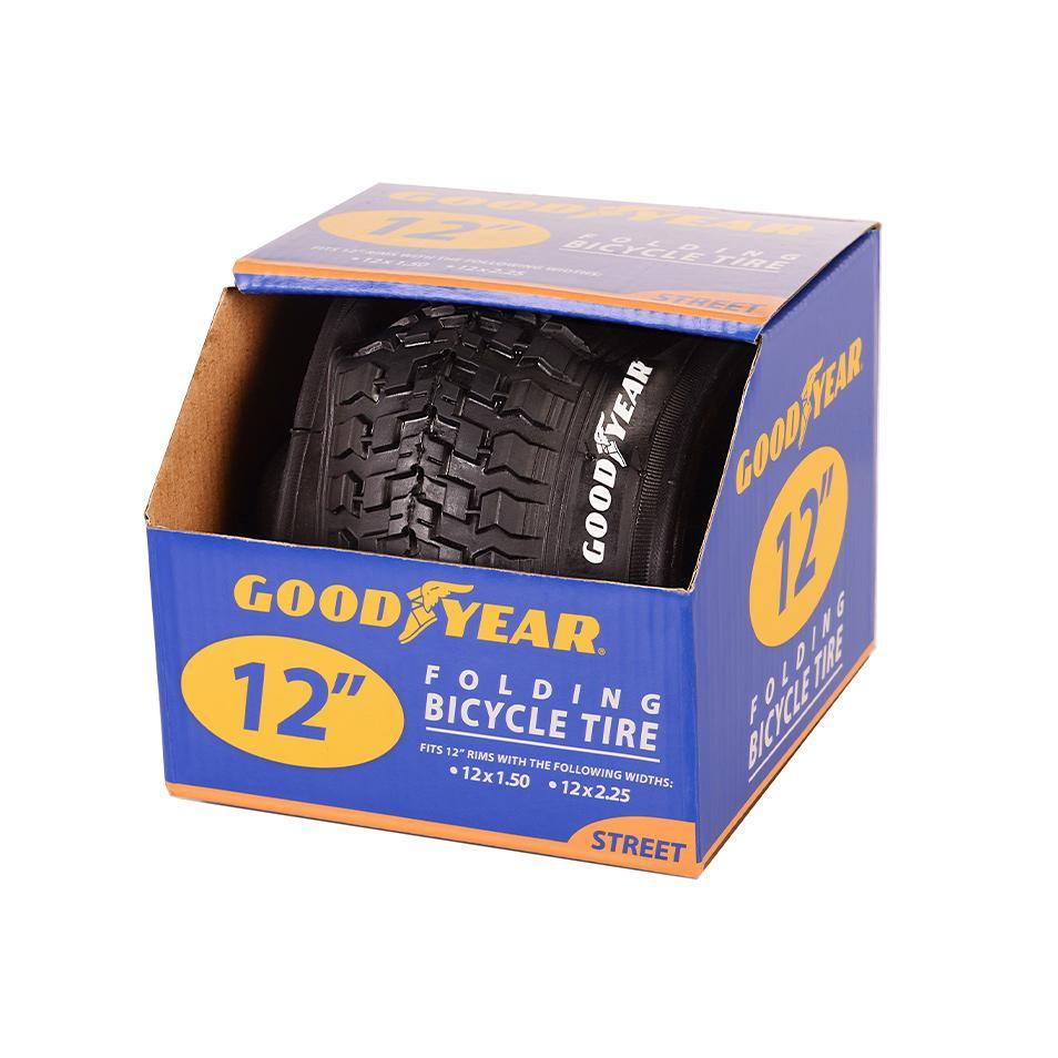 "Goodyear 12"" Folding Bike Tire"
