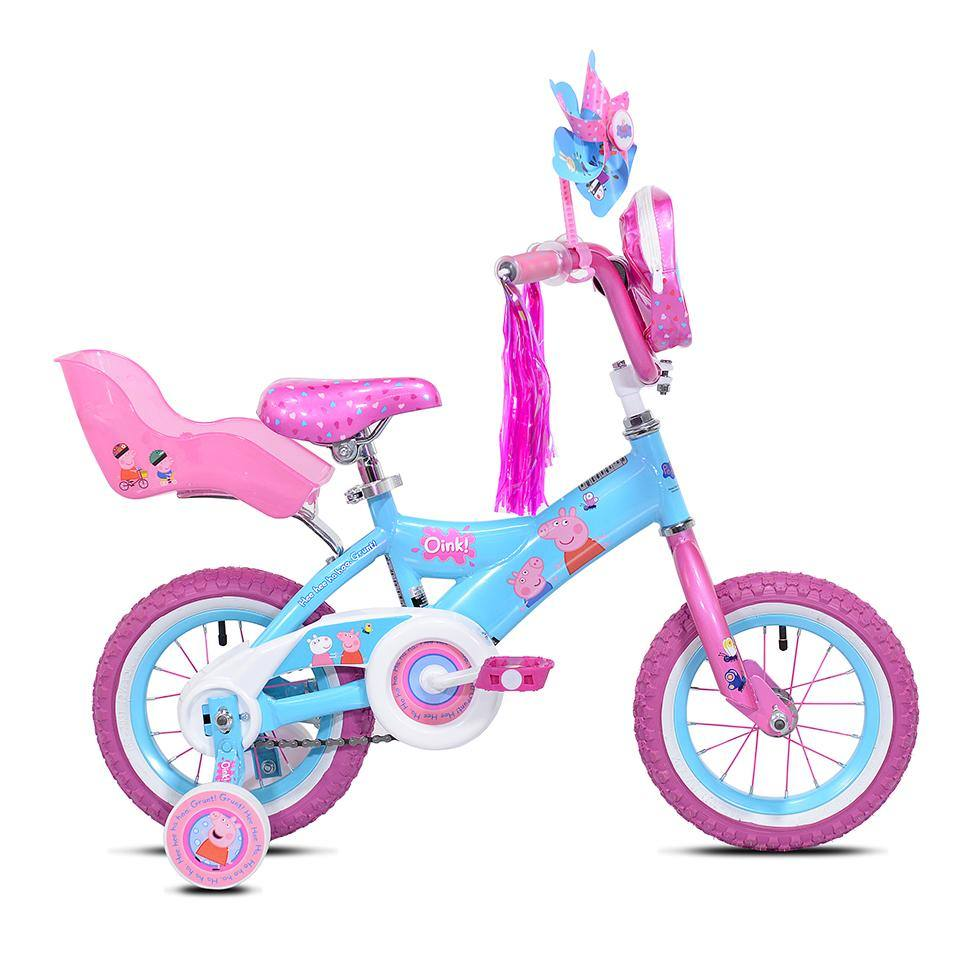 "12"" Girl's Peppa Pig 