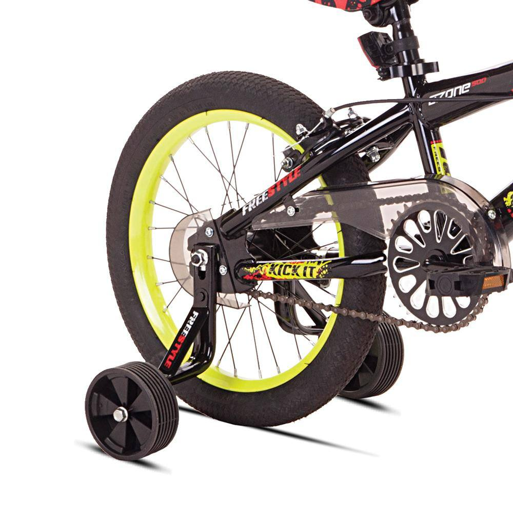 All Black Training Wheels