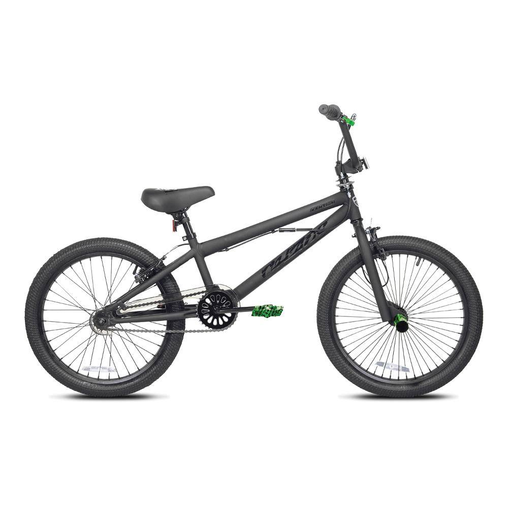 "20"" Boy's Kent Chaos - Hydropdipped Pedals and Pegs - Black on Black BMX Bike"